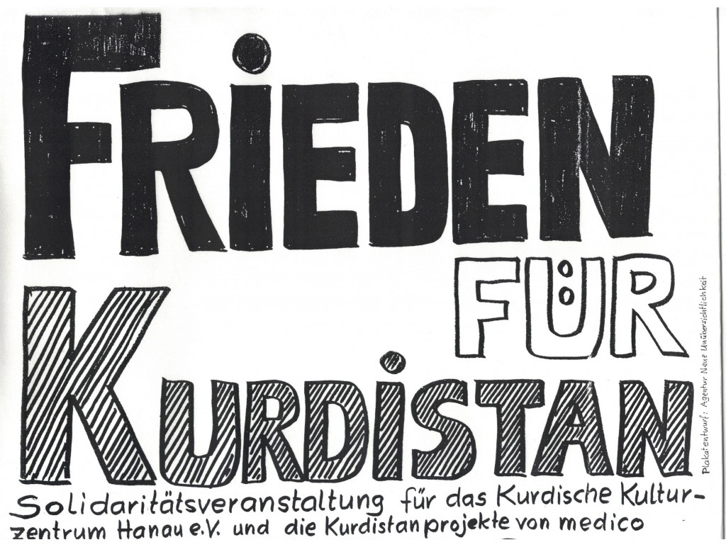Kurdistan-Plakat